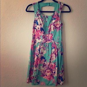 Floral dress-S